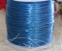 Силиконовая нить, цвет голубой, 60 м