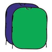 Складной фон FB2-102153 сини/зелёный (102х153см) Fotobestway