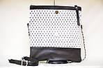 Кожаный клатч VS131 marine 28х20 см, фото 5