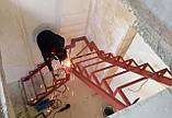 Лестницы. Каркасы лестниц под обшивку. Открытые металлические лестницы, фото 2