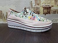 Туфли женские на платформе  (ll)