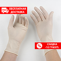 Перчатки латексные неопудренные Dermagel ® PF
