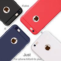 Чехлы для iPhone 6 6s силиконовые ультратонкие матовые