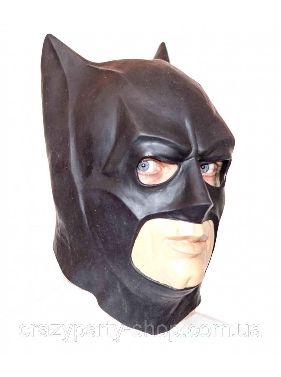 Маска латексная Бэтмен