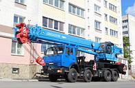 Автокран КЛИНЦЫ КС-65719-1К на шасси КАМАЗ-6540