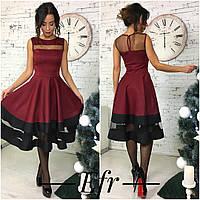 Женское платье клеш 132.1 ЕФ