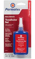Pезьбовой фиксатор высокой прочности Permatex High Strength Threadlocker Red (36 мл)