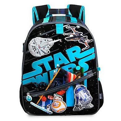 Рюкзак звездные войны Дисней с виниловыми наклейками / Star wars Backpack Disney
