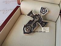 Серебряный Акимовский крест