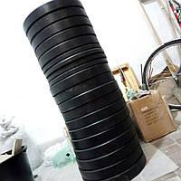 Блины обрезиненые - бамперные, для кроссфит и ТА (Комплект 100 кг)