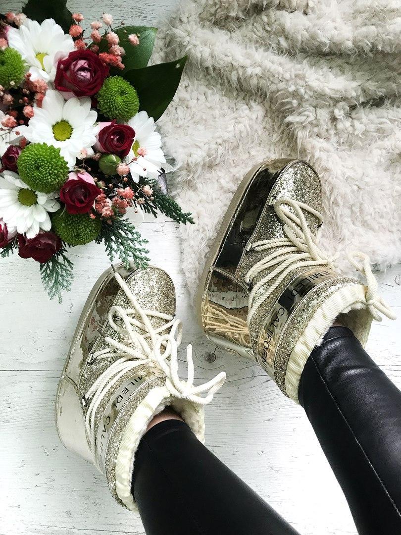 Луноходы Chiara Ferragni Womens Snow Boots Cream