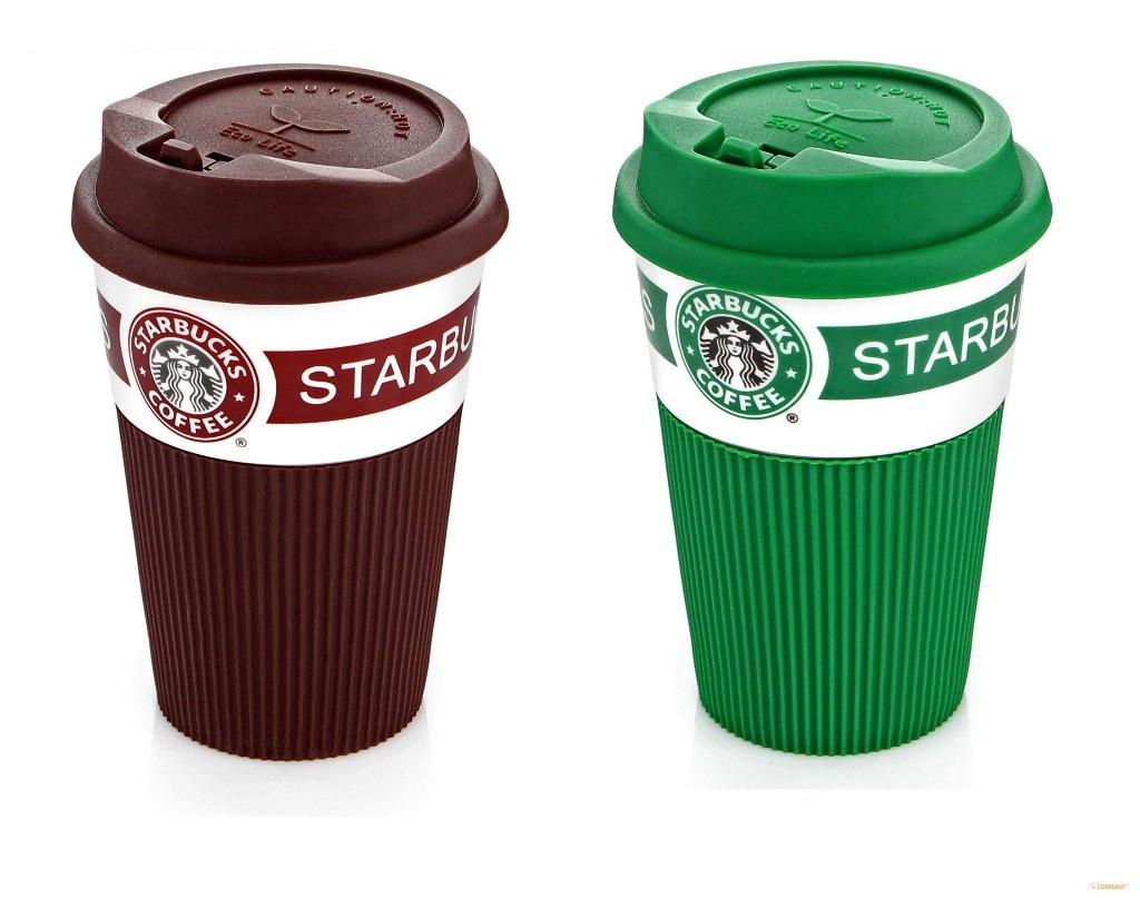 Керамическая термокружка Starbucks Eco Life (350 мл.)