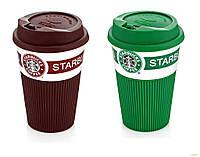 Керамическая термокружка Starbucks Eco Life (350 мл.), фото 1