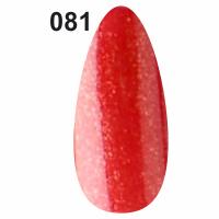 Гель-лак Christian №081 красный с мерцанием, 7 мл