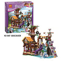 """Детский конструктор Bela Friends 10497 """"Спортивный лагерь: дом на дереве"""" (аналог LEGO Friends 41122), 739 дет"""