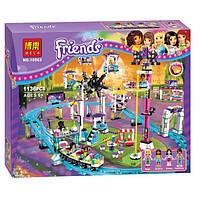 """Конструктор Bela Friends 10563 """"Парк развлечений: Американские горки"""" (аналог LEGO Friends), 1136 дет"""