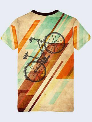 Футболка Retro bicycle, фото 2