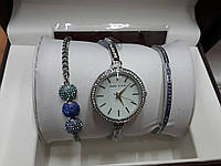 Женские часы Аnne Klein цветные камни (Серебро)