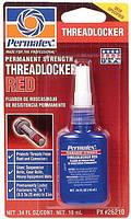 Красный Фиксатор для прочного соединения Permatex® Red Permanent Strength Threadlocker (10 мл)
