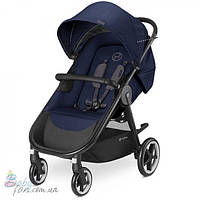 Прогулочная коляска Cybex Agis M-Air 4 Gold Line Denim Blue