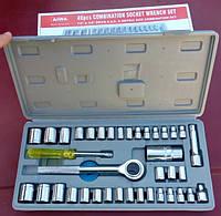 Набор ключей (головок с трещеткой)