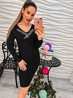 Платье женское черное модное