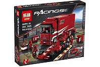 "Конструктор Lepin 21022 (аналог Lego Racers 8185) ""Грузовик Ferrari "", 554 дет"
