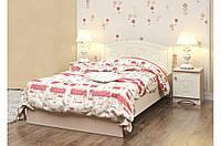 Детская кровать «Мишка» 120x190 см, без ящиков, цвет: ваниль + венге светлый