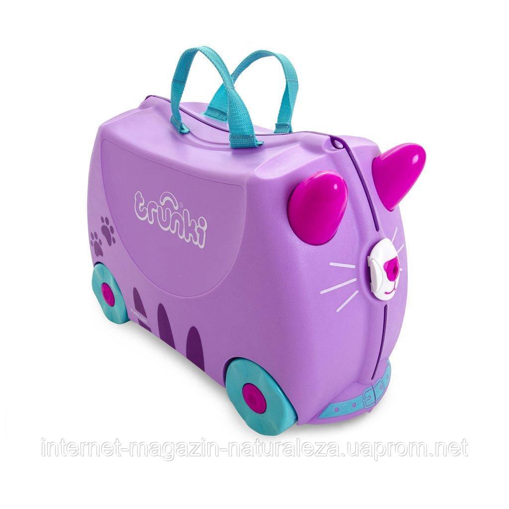 Детский чемодан Trunki Cassie Cat - Интернет-магазин La Flor - качественные  товары и игрушки 7177c2ca8e4