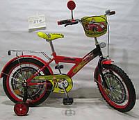 Велосипед детский 18 Tilly Автогонщик T-21824 Red-Black
