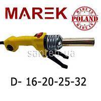 Паяльник для пластиковых труб круглый Marek