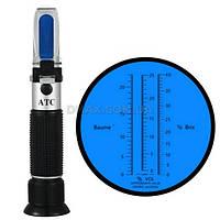 Рефрактометр для вина и сусла RHW-25D ATC, фото 1