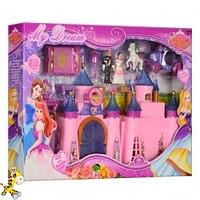 Замок SG-2992 принцессы музыкальный с фигурками и каретой