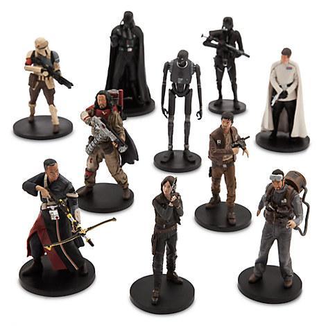 Большой набор фигурок Делюкс Звездные войны Изгой один Дисней/ Star Wars Rogue One Figure Set Disney