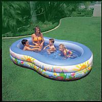 Семейный надувной бассейн Intex 56490