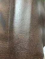 Дерматин(кож.зам) на метраж гладкий ширина 1м коричневый