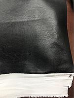 ВИНИЛИСКОЖА ДЛЯ ОБИВКИ ДВЕРЕЙ, МЕБЕЛИ гладкий 1,4м черный