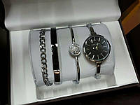 Женские часы Аnne Klein Black (Серебро)