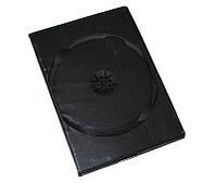 Коробка/бокс для DVD/CD (13.5 мм х 19 мм) на 2 диска, 14 mm, Black