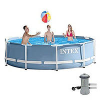 Практичный сборный каркасный бассейн Intex 28712