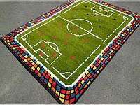 Детский коврик 2х3 футбольное поле