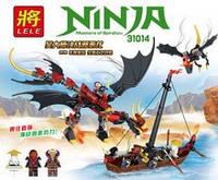 """Конструктор Lele Ninja 31014 """"Сражение злого дракона"""", 329 дет."""