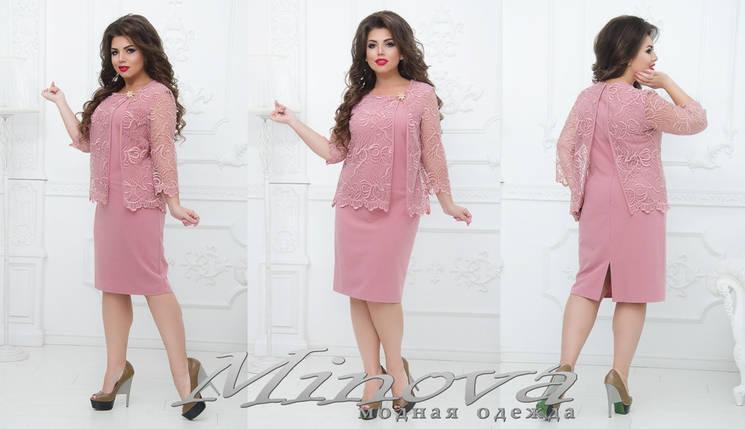 Вечірній гарну сукню від ТМ Мінова прямий постачальник Розміри: 50.52.54.56, фото 2