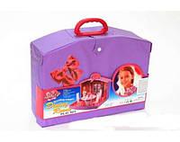 Домик для кукол Gloria 2014, игрушка детская, гостинная, в чемоданчике