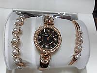 Женские часы Аnne Klein Жемчуг (Золото)