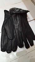 Мужские перчатки из натуральной кожи оленя фирмы Fioreyto