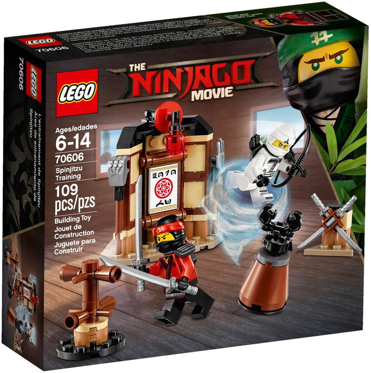 Лего Ninjago Школа спін-джитсу 70606