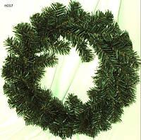 Венок новогодний без декора 30 см