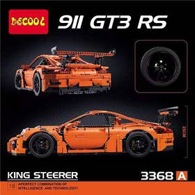 Конструктор Decool 3368 ABC Porsche 911 GT3 RS (аналог Lego Technic 42056)