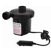 Электрический насос 12В, компрессор от прикуривателя для надувных матрасов, бассейнов, лодок, кроватей, Хит